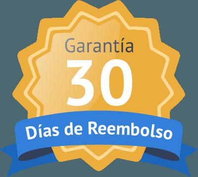 Garantía 30 días de reembolso